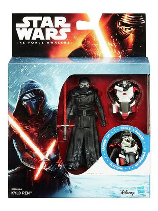 Star Wars: The Force Awakens - Armour Up Kylo Ren Action Figure