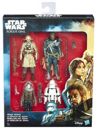 Star Wars: Rogue One - Jedha Revolt Action Figures 4-Pack