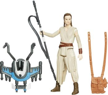 Star Wars: The Force Awakens - Combine Rey (Resistance Outfit) Action Figure