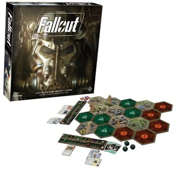 Fallout - A Post-Nuclear Board Game, 1-4 Players