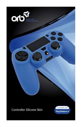 ORB Controller Silicon Skin - Blue (PS4)