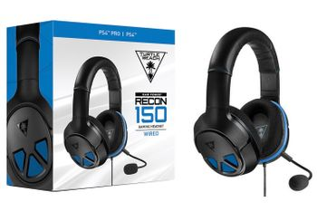 Ear Force Recon 150 Gaming Headset Wired - Black/Blue (PS4, PC)