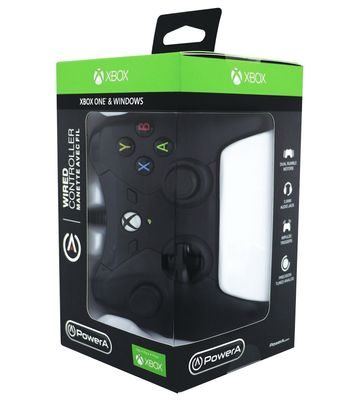 PowerA Wired Controller - Black (Xbox One)