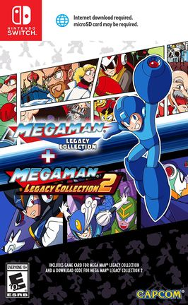 SWITCH Mega Man Legacy Collection 1 + 2 US Version