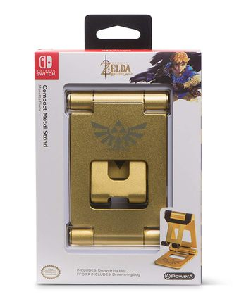 PowerA Compact Metal Stand Gold - Legend of Zelda: BotW Edition (Switch)