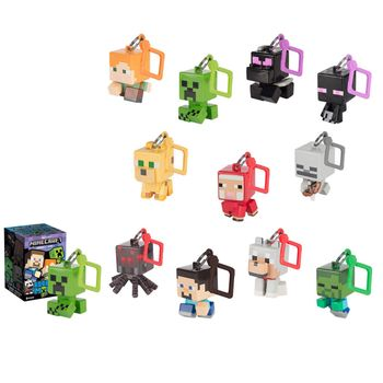 Minecraft - Bobble Mobs Hangers Blind Box, Series 1