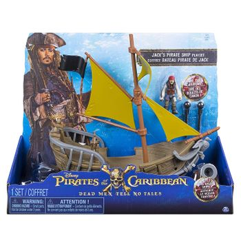 Disney Pirates of the Caribbean - Jack's Pirate Ship Playset