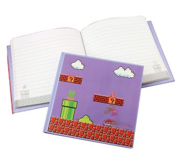 Notebook Super Mario Bros. - 3D Motion, Shaped