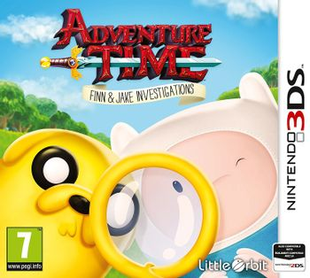 3DS Adventure Time: Finn and Jake Investigations