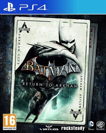 PS4 Batman: Return to Arkham [USED] (Grade A)