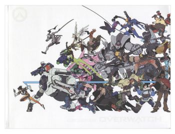 Overwatch - Visual Source Book