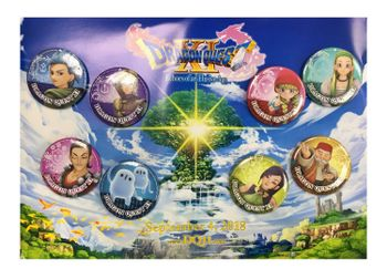 Dragon Quest XI: Echoes of an Elusive Age - Exclusive Pin Badges 8-Pack