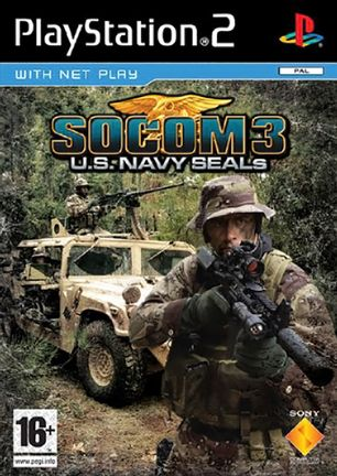 PS2 SOCOM 3 U.S. Navy SEALs