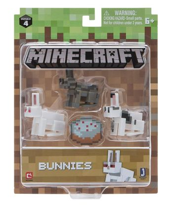 Minecraft - Bunnies, Series 4