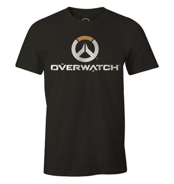 T-Shirt Overwatch - Classic Logo, Black Size S