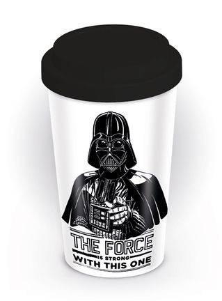 Star Wars - The Force is Strong Ceramic Travel Mug, 340ml