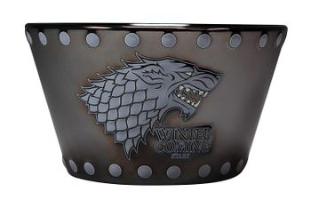 Game of Thrones - Stark Stud Relief Bowl, 500ml