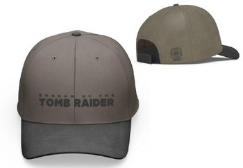 Baseball Cap: Shadow of the Tomb Raider - Logo, Brown/Black