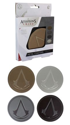 Assassin's Creed - Metal Coasters 4-Pack