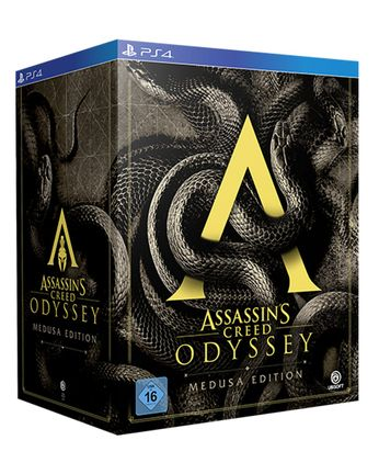 PS4 Assassin's Creed Odyssey Medusa Collector's Edition