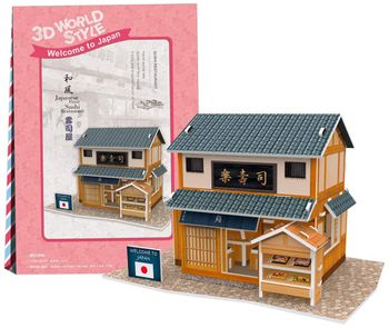 3D World Style: Welcome to Japan - Sushi Restaurant, 32 Pieces