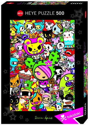 Heye Puzzle: All-Stars - Tokidoki, 500 Pieces