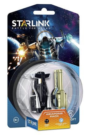 Starlink: Battle for Atlas: Weapons Pack - Iron Fist and Freeze Ray Mk.2
