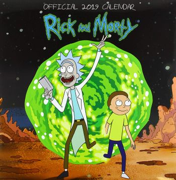 2019 Calendar - Rick and Morty, 30x30cm