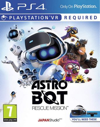 PS VR Astro Bot Rescue Mission
