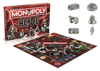 MONOPOLY AC/DC Collector's Edition