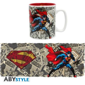 DC Comics - Superman and Newspaper Mug, 460ml