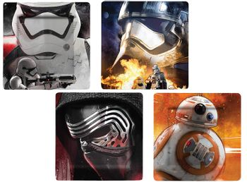 Satr Wars - Characters Melamine Plate Set of 4
