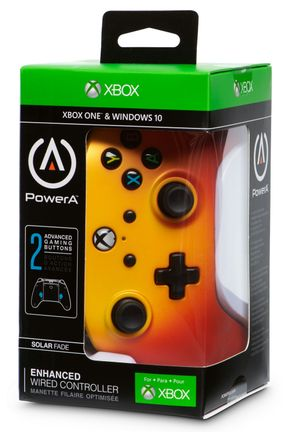 PowerA Enchanced Wired Controller - Solar Fade (Xbox One, PC)