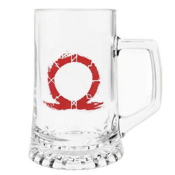 God of War - Serpent Logo Drink Beer Glass
