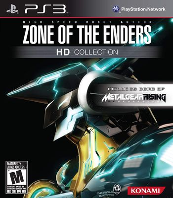 PS3 Zone of the Enders HD Collection US Version