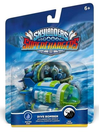 Skylanders: SuperChargers Sea Vehicle - Dive Bomber