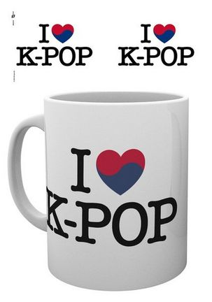 K-Pop - Heart Mug, 300ml