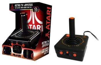 Atari Retro TV Joystick incl. 50 Classic Games Plug and Play