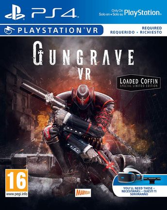 PS VR Gungrave VR Loaded Coffin Special Limited Edition