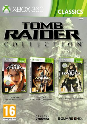 Xbox 360 Tomb Raider Collection: Legend, Anniversary and Underworld - Xbox One Compatible