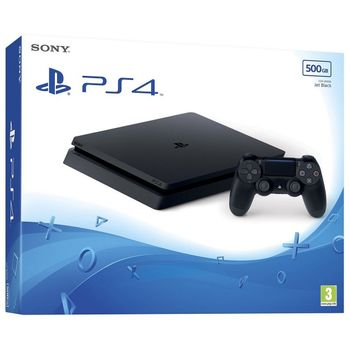 PlayStation 4 Slim 500 GB - Jet Black