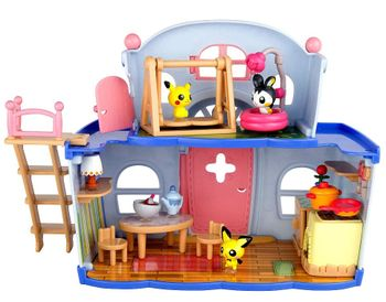 Pokemon: House Party - Pikachu, Pichu and Emolga Playset