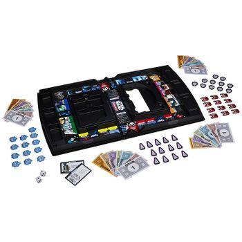 MONOPOLY Star Wars with Open and Play Game Case
