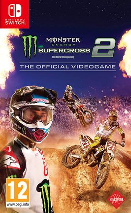 SWITCH Monster Energy Supercross 2 - The Official Videogame