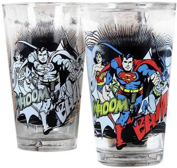 DC Comics - Colour Change Glass, 450ml