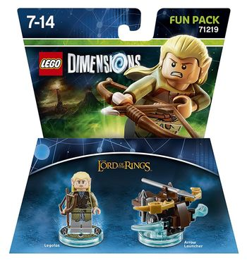 LEGO Dimensions Fun Pack: Lord of the Rings - Legolas 71219