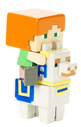 Minecraft - Alex on Llama Minifigure