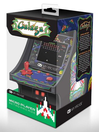 My Arcade - Galaga Micro Player Retro Arcade