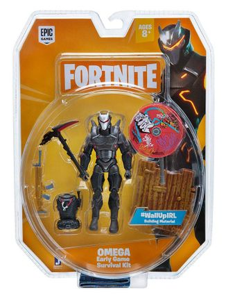 Fortnite: Early Game Survival Kit - Omega Action Figure Pack, 10cm