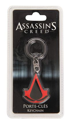 Assassin's Creed - Crest Metal Keychain